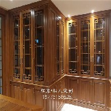 长沙美式整体实木家具、实木护墙板、衣柜定做专业快速