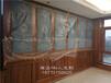 长沙全房定制原木家具工地参观、原木书柜、护墙板订制A级材料