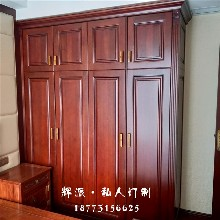 长沙市定制家具厂原木柜门、原木推拉门定制厂家直销图片