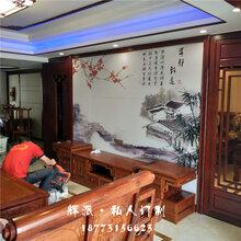 长沙宁乡县实木欧式家具、实木背景墙、酒柜订做厂家地址图片