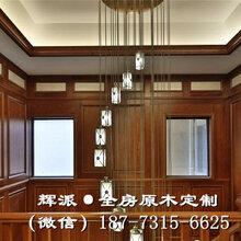 长沙欧式原木家具报价、原木吊顶、卧室门定做合理布局图片