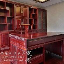 長沙原木家具定制價格、定做原木書架熱門輝派圖片