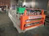 双层覆膜压瓦机全自动彩钢瓦覆膜设备