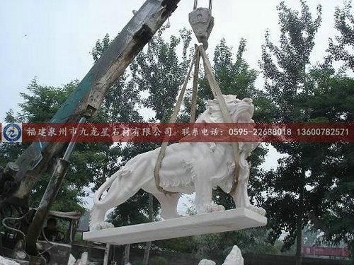 石狮子批发石雕狮子石狮子雕刻石头狮子迎宾招财