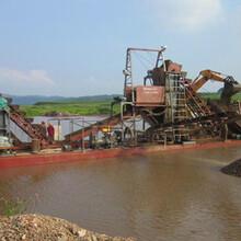 采金船给矿的供水量及供水压力