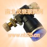 氟塑料直通式节流阀产品型号,南北仪表泵阀网