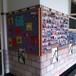 廣州廠家長期定做諾迪士實木邊布板軟木布展示板120240