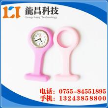东莞硅胶护士表套厂家订制,黄江时尚护士硅胶表带电子市场图片
