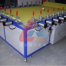 厂家直销1620精密气动拉网机绷网机电动拉网机图片