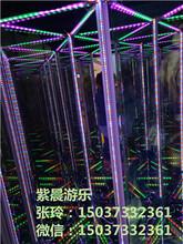 魔幻镜宫,新型镜子迷宫,火爆好玩的室内游乐设备,河南新乡紫晨游乐、