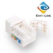 超五類模塊Cat5e網線插座免打模塊RJ45電腦網線連接頭非屏蔽圖片