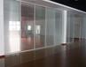 无锡办公室玻璃隔断墙/无锡内置百叶玻璃隔断厂家