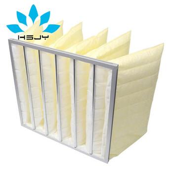 F8中效袋式空氣過濾器中效袋式除塵布袋-中國品牌空氣過濾器生產廠家