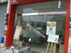 西安餐厅专用玻璃门肯德基专用地弹门店面专用推拉玻璃门
