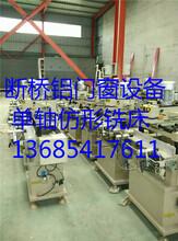 隔热铝型材滚压复合机和开齿穿条机一套多少钱&济南滚压复合机厂家