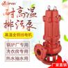 耐熱潛水排污泵65WQR37-13-3污水輸送泵鍋爐熱水抽水泵單級立式排水泵