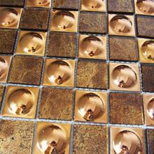 佛山市禅城区堂碧馨专业玻璃金箔马赛克生产厂批发厂家直销图片