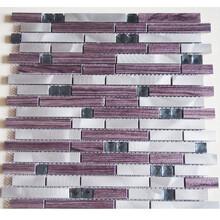 永宁县堂碧馨品牌实用的玻璃电镀马赛克瓷砖特色厂家直销图片