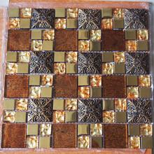 永宁县堂碧馨品牌优质的玻璃电镀马赛克瓷砖提供商厂家直销图片
