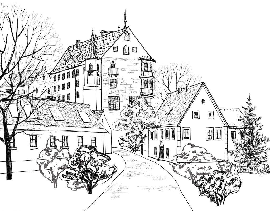 扬州园林建筑景观设计培训-零基础建筑园林手绘学习