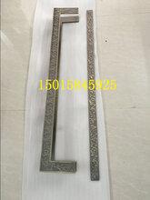朝阳高档商场铝合金拉手、异形玻璃门拉手供应厂家图片