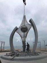 佛山顺德生产制作户外大型不锈钢雕塑厂家