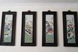 程意亭瓷板画鉴定价值,珠山八友瓷板画市场行情?