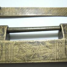 清代铜锁免费鉴定拍卖公司,市场价值怎么样?图片