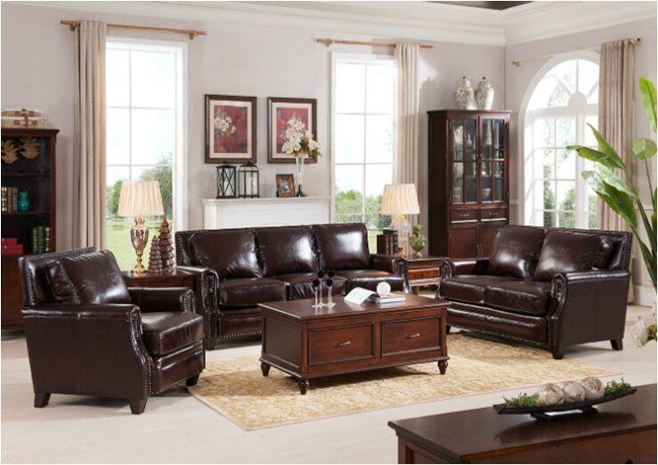 美式外贸家具宜美仓美式沙发组合