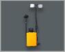 厂家专业生产FW6108移动式现场勘查灯防尘防水、移动便携式工作灯