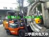 漳州二手夹抱叉车堆高4米叉车。进口卡斯卡特叉车属具