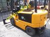 丽水仓库小型专用电瓶叉车,座驾式平衡重合力二手电瓶叉车