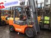 安徽蚌埠二手叉车市场3吨合力柴油叉车价格表