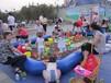 厂家供应充气沙滩池充气水池充气游泳池广场沙滩池