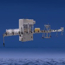 食用油自动灌装生产线润滑油灌装设备厂家