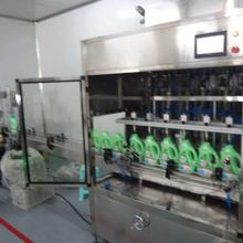 清洁、洗涤日化灌装全自动生产线