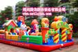 郑州腾龙厂家现货直销儿童充气城堡充气蹦蹦床低风险成本投资