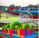 河南濮阳厂家现货供应儿童充气城堡充气滑梯充气蹦蹦床现货供应