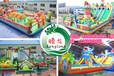 内蒙古包头供应儿童充气滑梯充气蹦蹦床高品质价格优惠欢迎投资