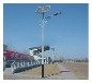 湖北恩施市自治州太阳能路灯找浩峰高亮度灯具质保三年