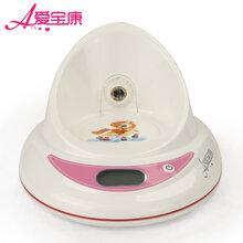 爱宝康非接触式奶瓶温度计红外快速测温底座奶瓶伴侣奶温水温测量
