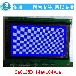 LCD液晶屏240128B液晶显示屏单排接口7寸工控点阵屏液晶显示模块