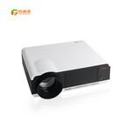投迪清TDQ-12高清家庭影院投影仪1080P教学办公安卓智能wifi图片