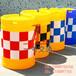 交通设施广州防撞桶滚塑防撞桶反光桶路障桶高速公路防撞桶