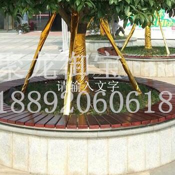 西安防腐木围树椅松木围树椅景区围树椅