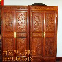 西安仿古衣柜定制、仿古衣柜图片、实木家具装修风格、红木衣柜、榆木衣柜图片
