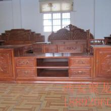 西安仿古电视柜、仿古家具、实木电视柜、电视柜价格、实木电视柜供应图片