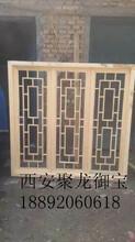西安仿古门窗定制、实木门窗价格、松木门窗定制价格、古建门窗装饰