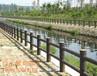 西安仿古护栏、防腐木护栏定制厂家、实木护栏厂家直销价格、园林木护栏图片