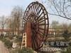 西安哪有仿古木水車-木質水車的制作方法-景觀水車設計圖